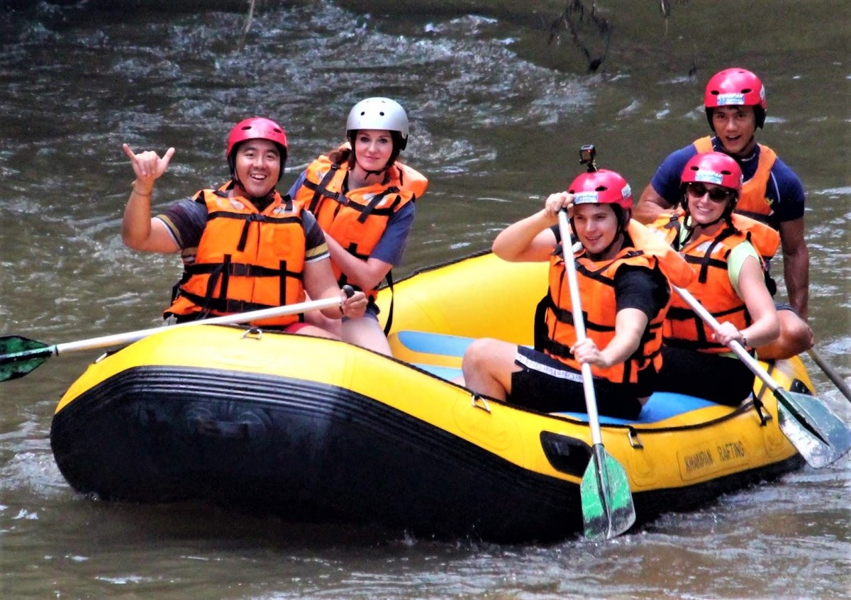 White Water Rafting How to Spend $40 Per Day in Thailand