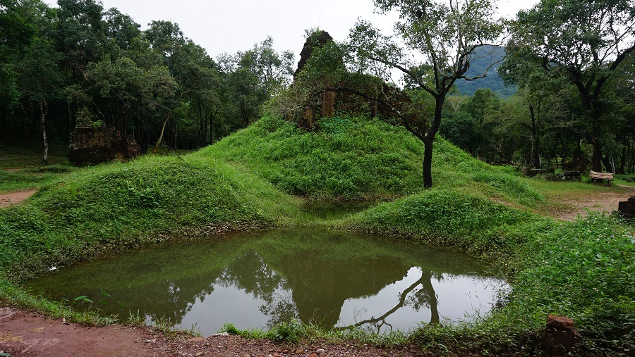 My Son Sanctuary bomb crater Budget Breakdown Travelling as a Couple in Vietnam