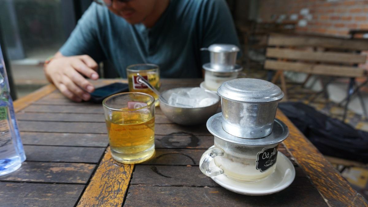 Salt coffee in Hue Budget Breakdown Travelling as a Couple in Vietnam