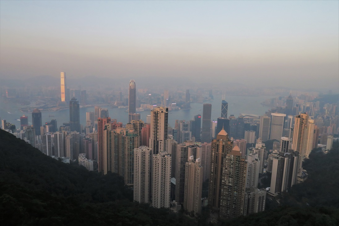 Sunset at Victoria Peak Budget Breakdown 7 Days Exploring Hong Kong