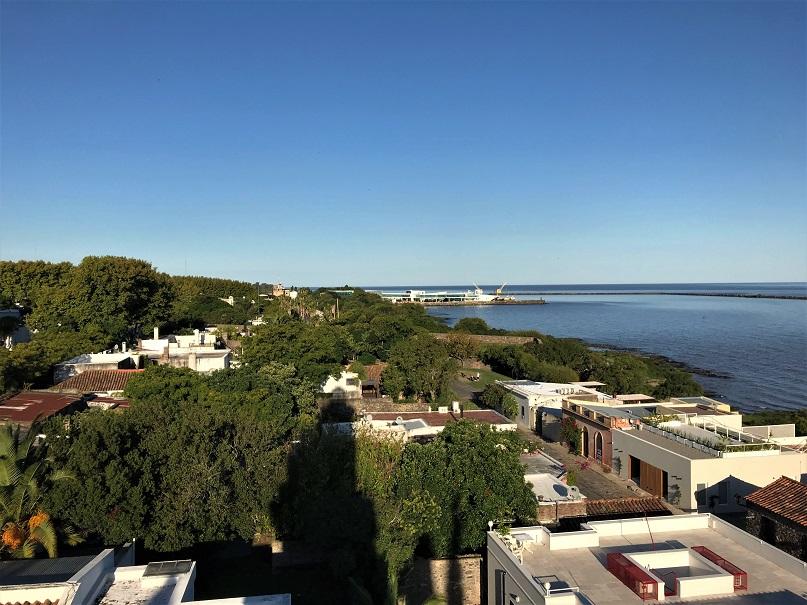 Colonia del Sacramento light house view Budget Breakdown 5 Days Travelling in Uruguay