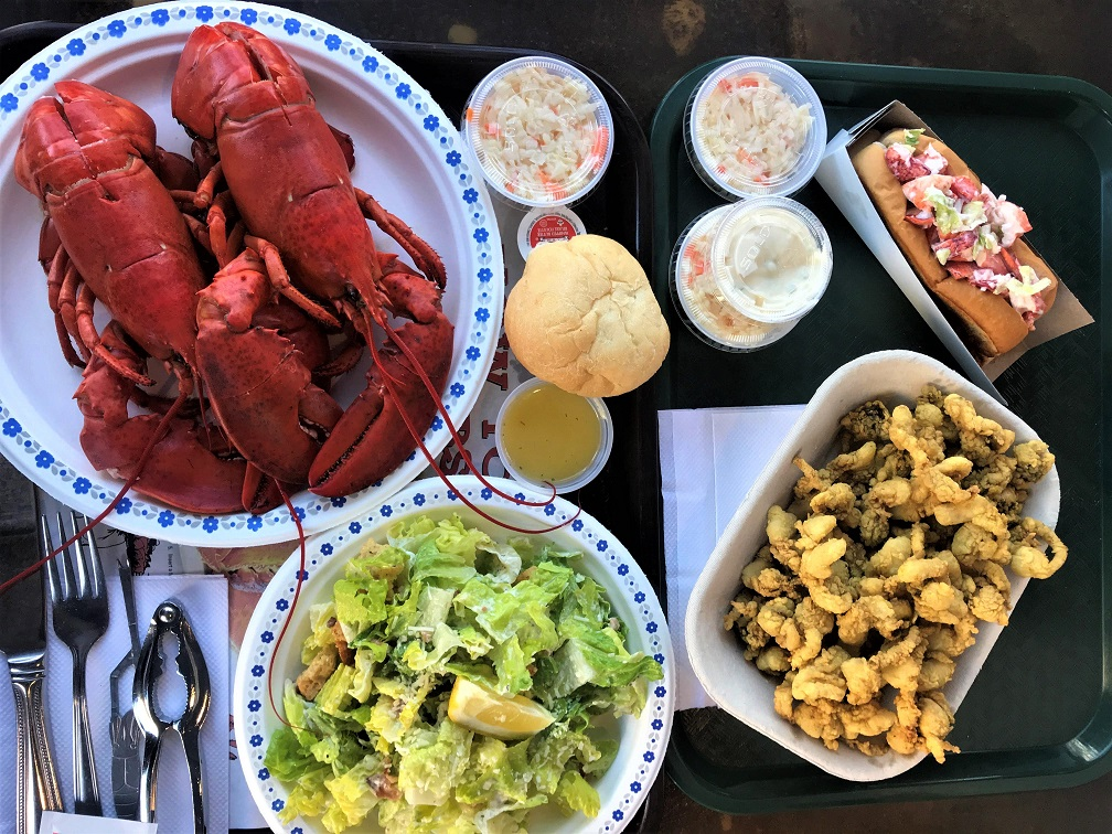 Seafood-feast-at-Lobster-Deck-Shediac-Budget-Breakdown-An-Atlantic-Canada-Road-Trip