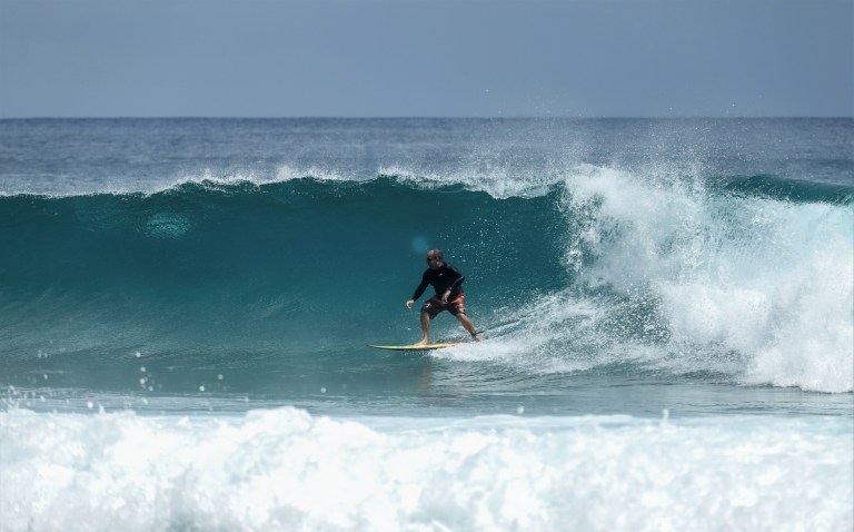 Surfing at Jeffreys Bay The Budget Traveller's Guide to the Garden Route Road Trip