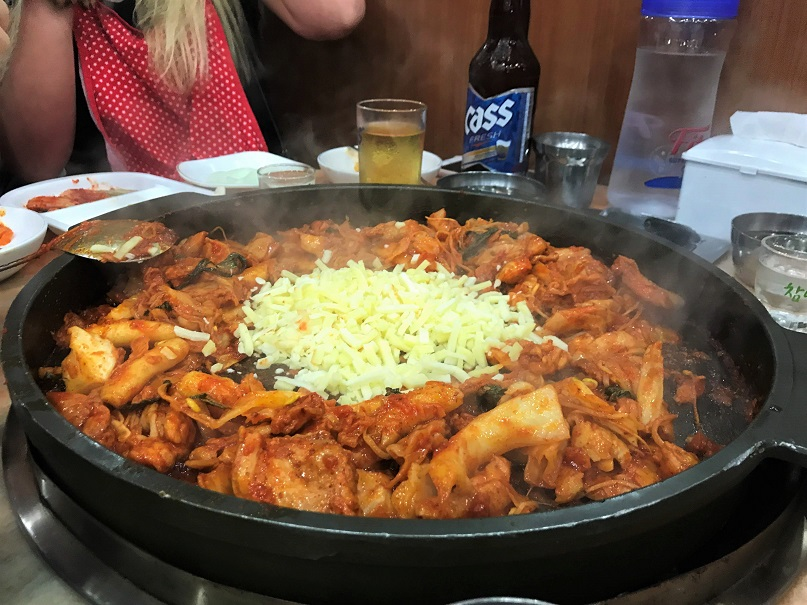 Cheese-Dakgalbi-Top-5-Eats-in-South-Korea-1