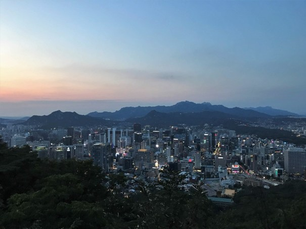 View-from-Namsan-Mountain-Budget-Breakdown-Backpacking-South-Korea-on-the-Cheap