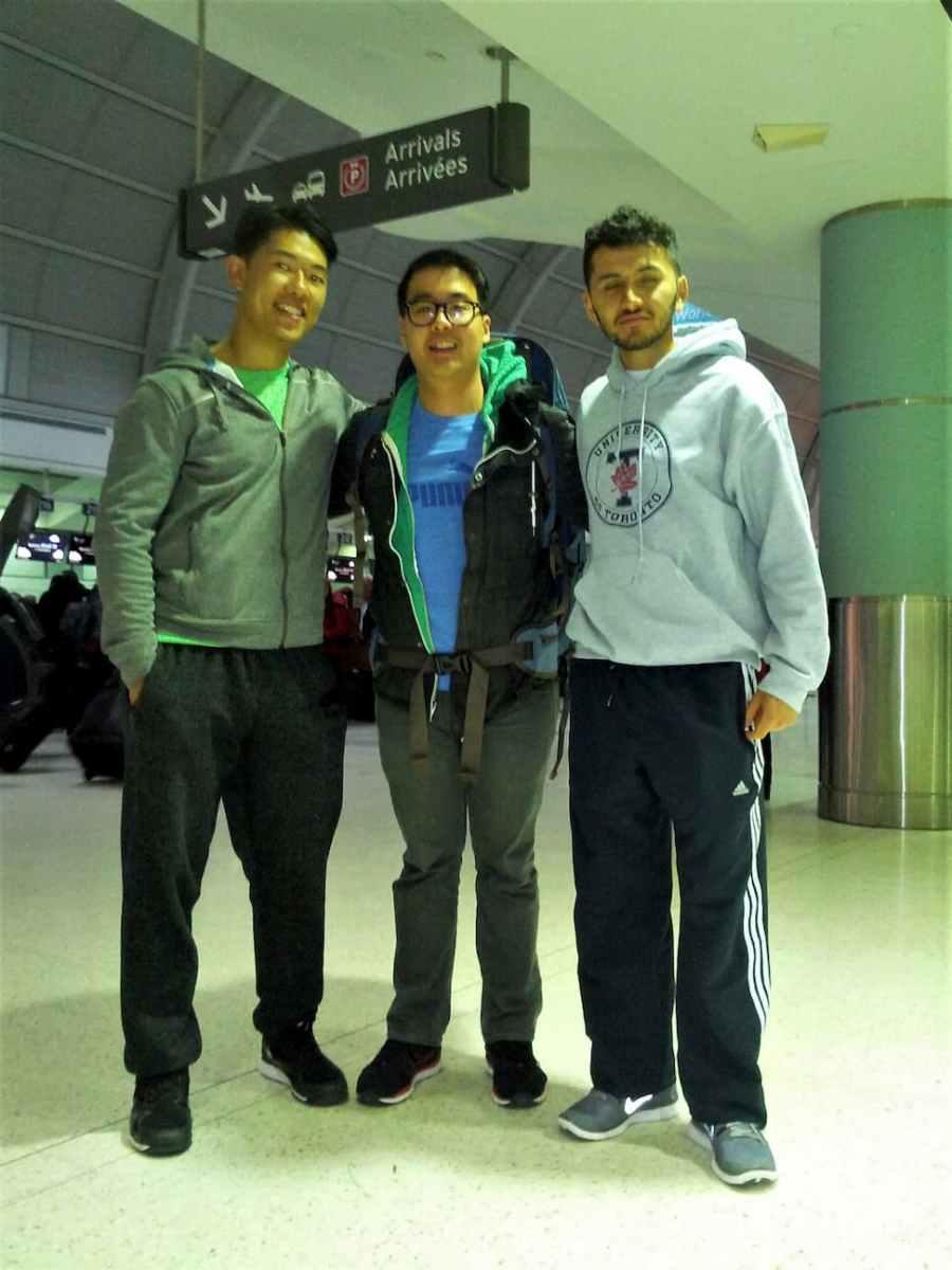 Adi Leo Jordan in YYZ Airport