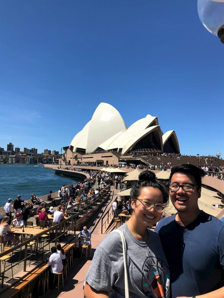 Shelly and Adi Sydney Opera House