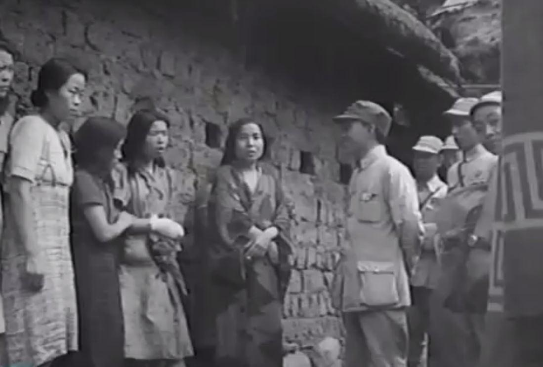 Harrowing Moment Korean Sex Slaves Are Rescued During Ww2