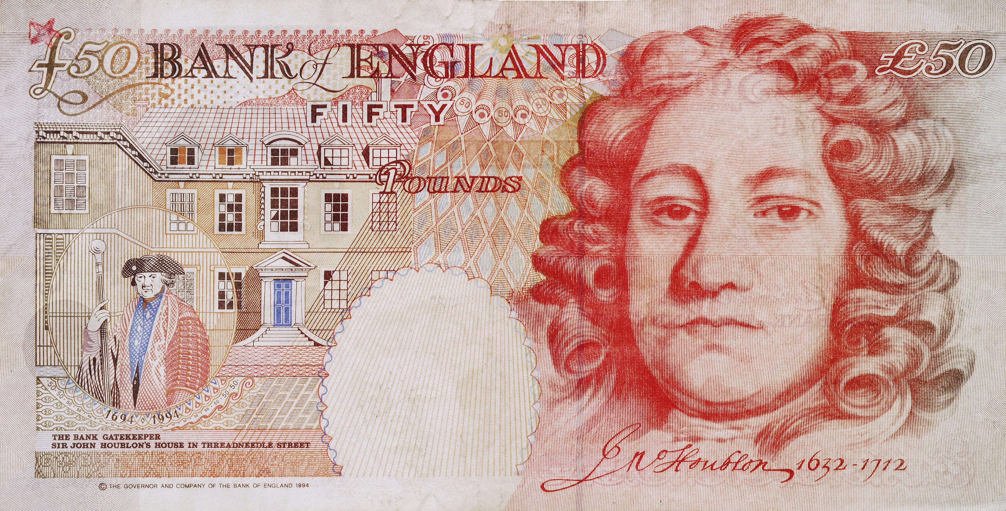 50*50 Who Has Appeared On The £50 Note? From James Watt To Christopher Wren