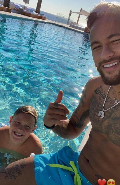 Neymar Hairstyle 2020 : neymar, hairstyle, Neymar, Blonde, Reveals, Wacky, Style, During, Ibiza, Getaway