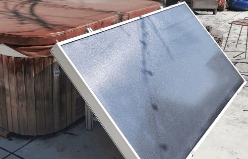 small resolution of installed solar hot tub kit