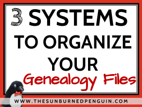 Start to organize your genealogy files with these 3 filing systems!