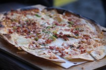 Flamkuchen with bacon