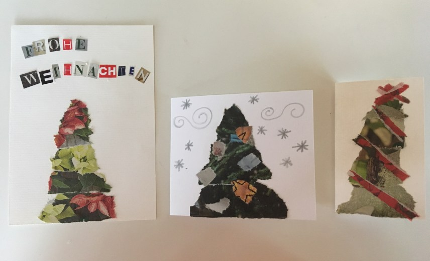 tssok, thesunny side of kids, the sunny side of kids, wandern mit kindern in Vorarlberg, Karte, Christmascard diy, diy Weihnachtskarte, diy Weihnachtskuvert, upcycling, vorarlberg