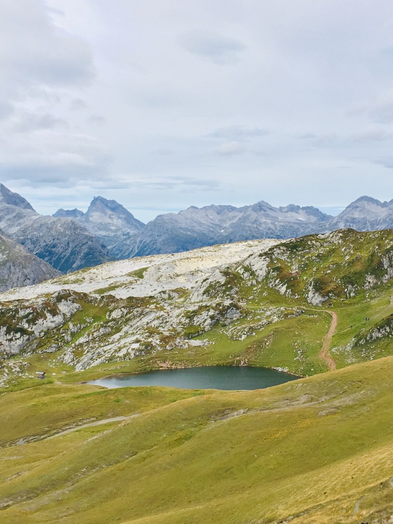 Monzabonsee, Lech am Arlberg, Rüfikopf-Seilbahn
