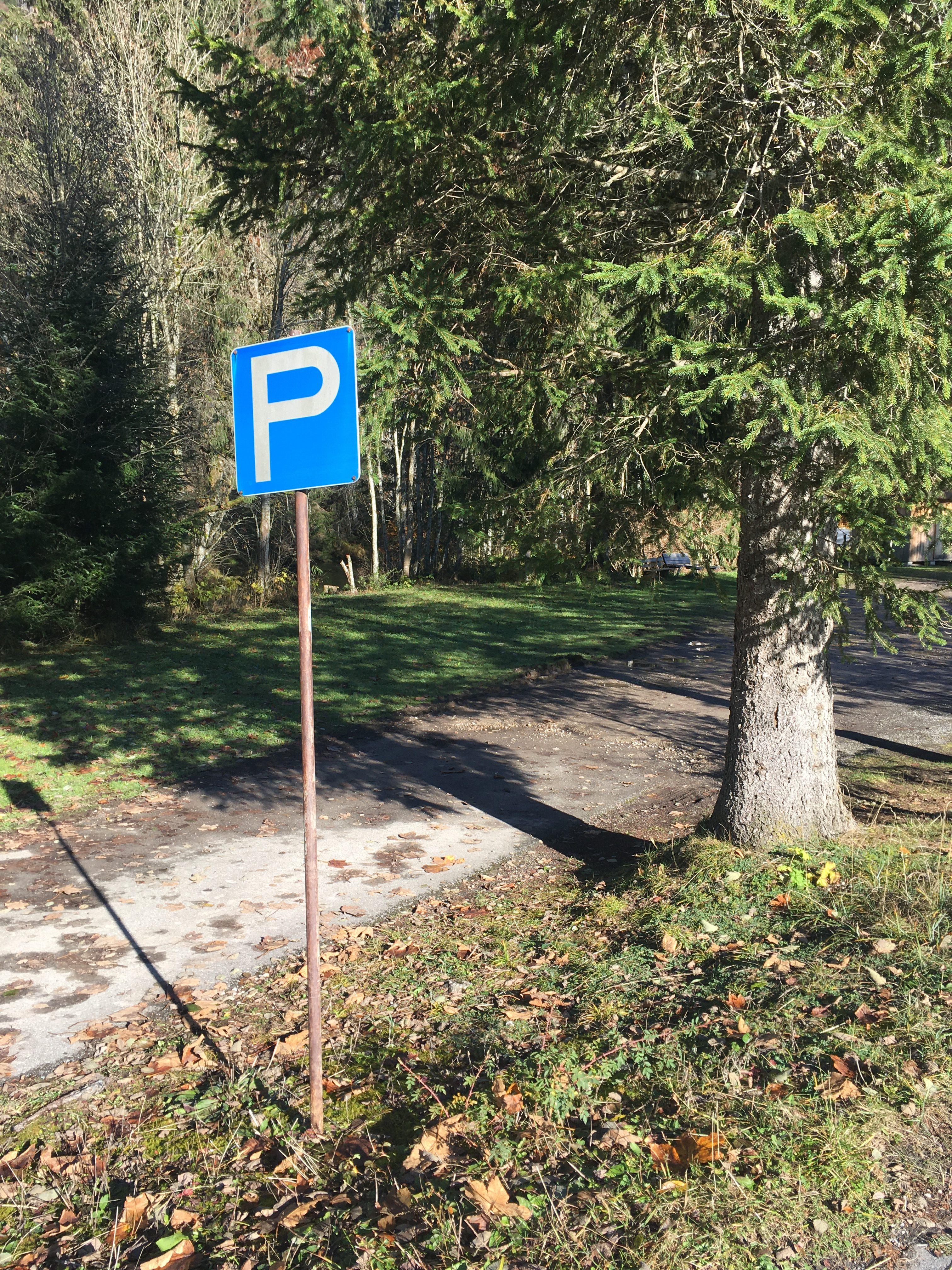 Wanderparkplatz lecknertal