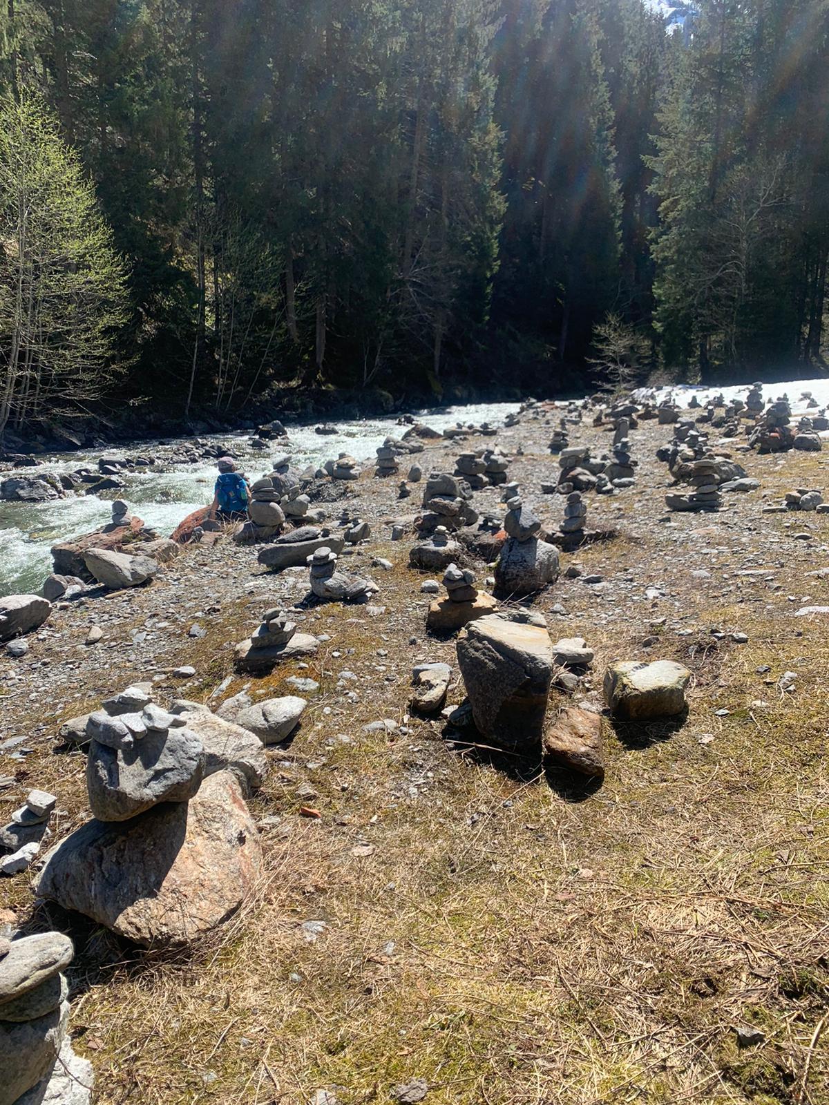 Silbertal, steinmännle, litzbach