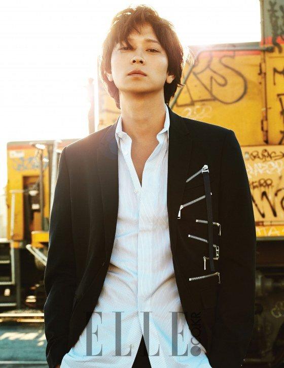 Kang Dong Won Running Man : running, Elle], Breathless, Interview, Sunny