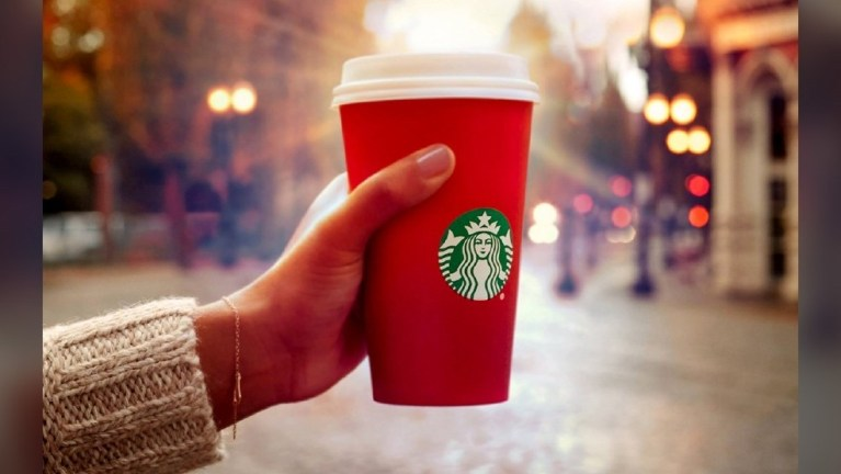Starbucks Is Spreading Holiday Cheer With Free Drinks For Christmas
