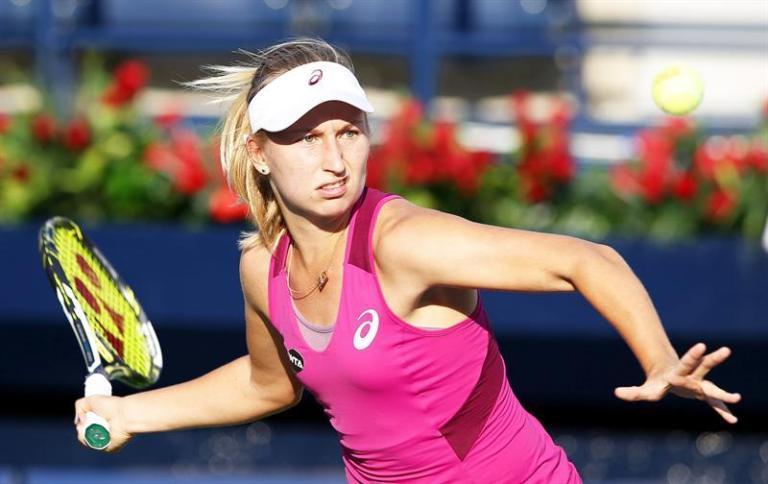 Gavrilova eliminates the champion, Radwanska, and will play the final of New Haven with Cibulkova