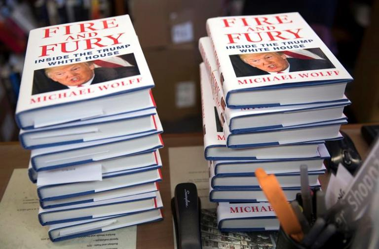 The controversial book about Trump goes on sale and unleashes his anger