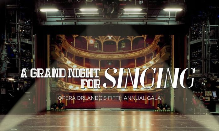 Opera Orlando celebrates its fifth annual gala, A Great Night to Sing
