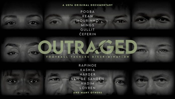UEFA launches 'Outraged', a documentary to combat racism and discrimination