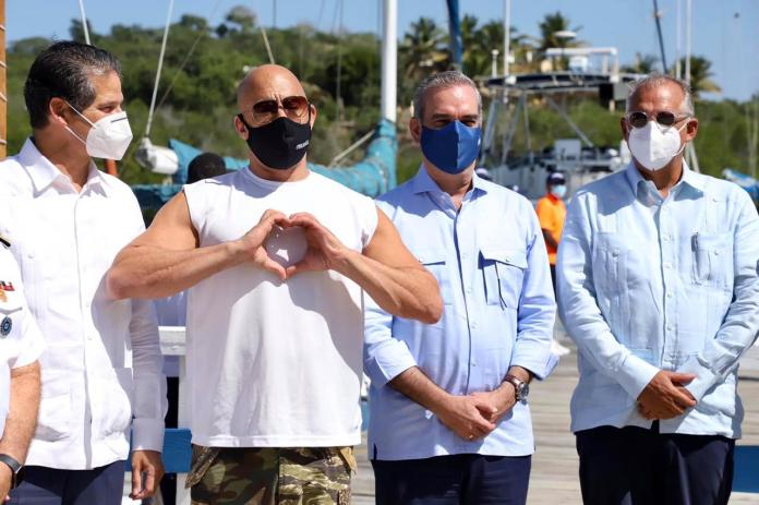 Renowned actor and film producer Vin Diesel supports tourism in the Dominican Republic