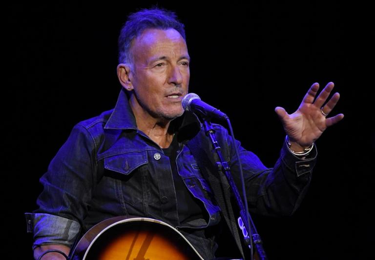Bruce Springsteen arrested for drunk driving after taking a shot of tequila with a fan