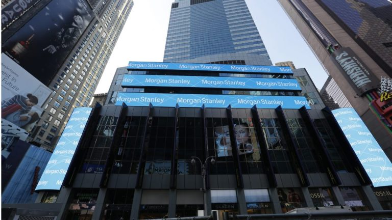 Morgan Stanley achieves a record profit of 3,437 million in the first quarter