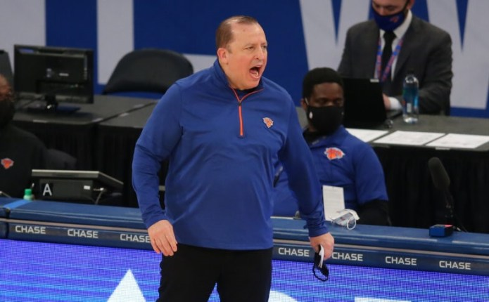 Tom Thibodeau (Knicks) is the 'Coach of the Year' in the NBA