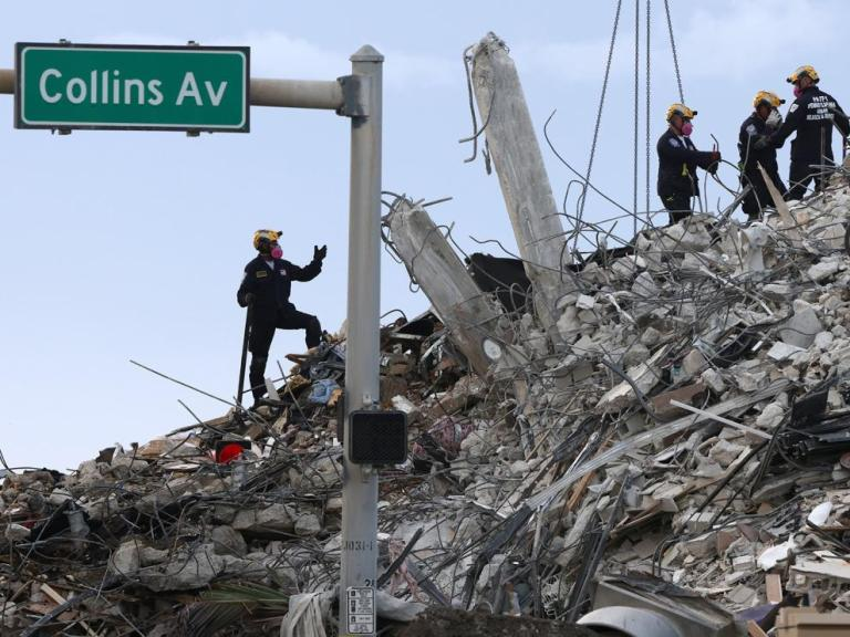Death toll from building collapse in Miami rises to 78