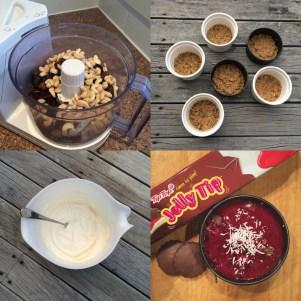 Mini No-Bake Jellytip Cheesecake.