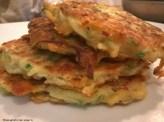 zucchini cheddar pancakes