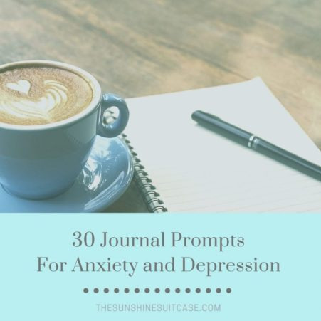 30 Journal Prompts for Anxiety and Depression
