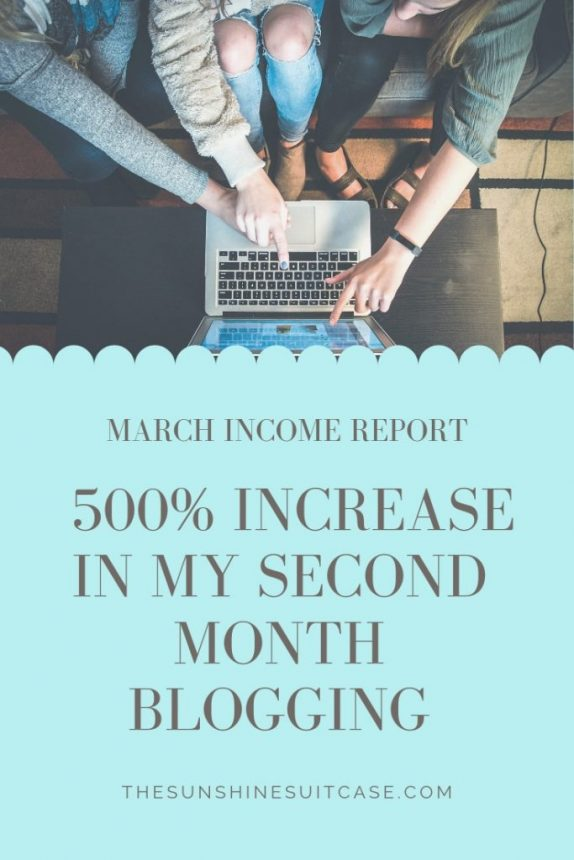 March Income Report TSS