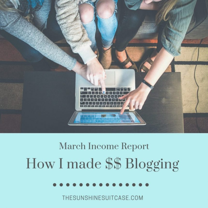 March Income Report TSS