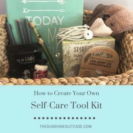 Build Your Own Self-Care Box - The Sunshine Suitcase