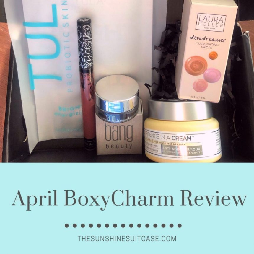 BoxyCharm Review- April 2019