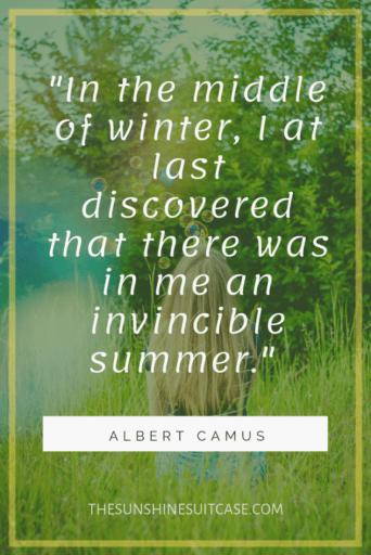 Invincible Quote Albert Camus