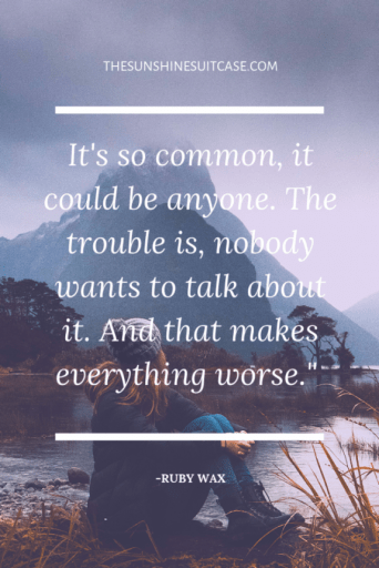 Quotes Ruby Wax Mental Health