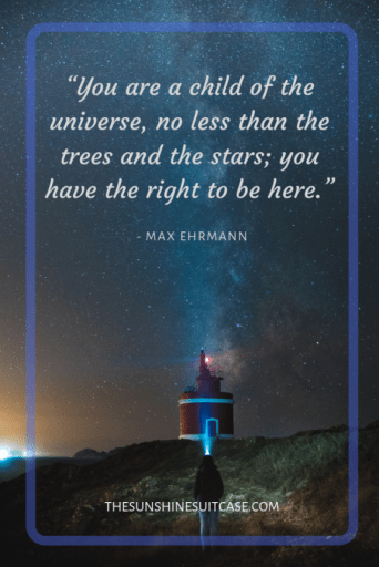Max Ehrman Inspirational Quote