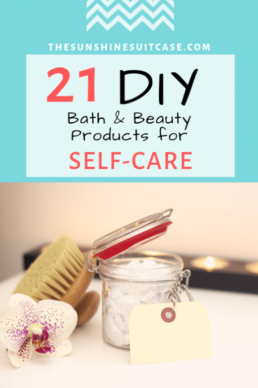21 DIY SELF CARE PRODUCTS