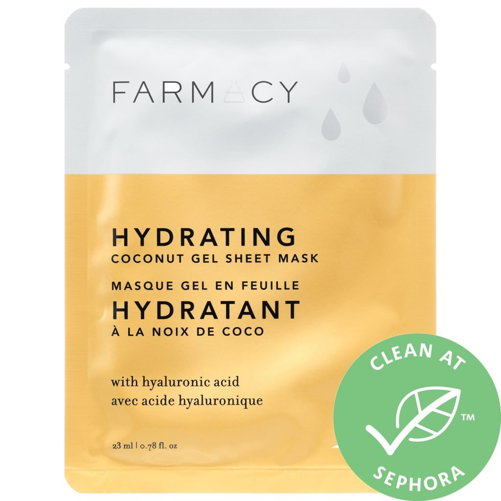 Hydrating Farmacy Sheet Mask from Sephora. Wonderful hydrating skin care product.