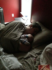 co-sleeping | sleep through the night