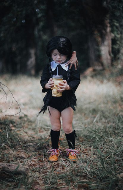 Wednesday Adams Costume for Kids - Halloween costume