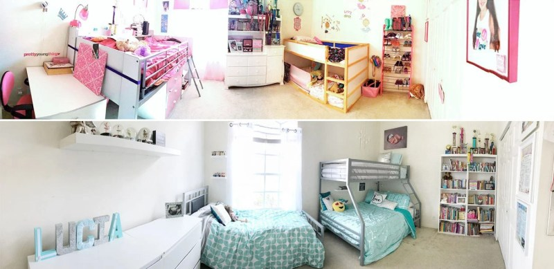 redecorating diy decor room girls room daughters room snuz mattress foam mattress mom blog mom blogger mom bloggers mom blogs family blog 2017 2018