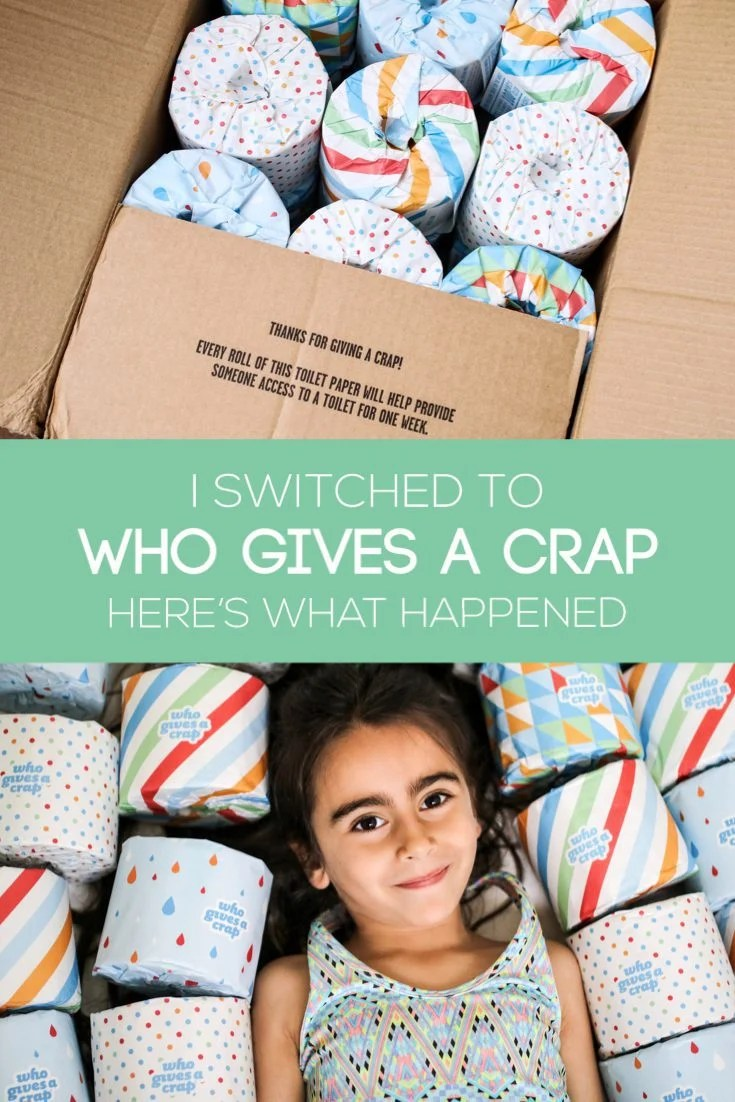 When I I was introduced to @whogivesacraptp I fell in love with the brand. They have an incredible sense of humor and have also made it their mission to donate 50% of profits to help build toilets in developing countries. But… would I like the toilet paper? I tried Who Gives a Crap and you'll have to head over to the blog to check out what I thought of it. (There's also a $10 off code in there so you can try it for yourself!)