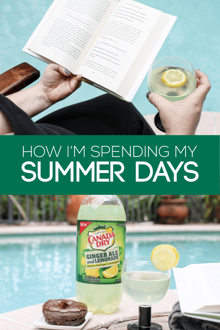 I love everything about Summer. I have 8 solid hours of quiet in my home, five times a week. Here's how I've been spending my days when the kids are away.