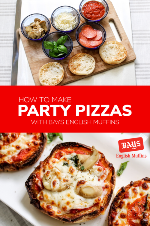 Looking for a fast and easy meal? Try these @BaysMuffins party pizzas! English muffins can be used for more than just breakfast at home. Find Bays in the Dairy case, chilled for freshness. Full recipe on the blog. Learn more about Bays: http://bit.ly/2xPFoBz